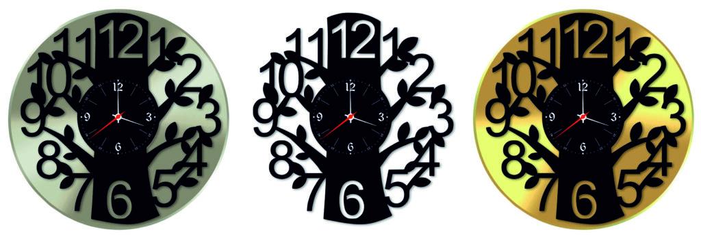 Виктор Цой и группа КИНО [Версия 2]. Дизайнерские часы из настоящей виниловой пластинки